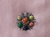 Vintage Miracle Scarf Ring - Jewel set (Sold)